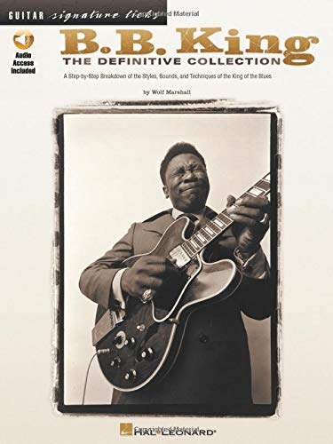 King, Bb Definitive Collection Guitar Signature Licks (Book & CD): Sammelband, CD für Gitarre: The Definitive Collection