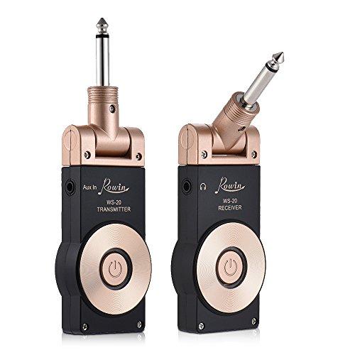 ammoon Rowin WS-20 2.4G Inalámbrico Recargable Set del Receptor del Transmisor de...