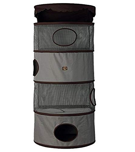 One for Pets 4-Storey All in One Portable Cat Activity Tower – Cat Furniture