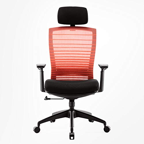 LLNN Office Chairs Office Chair Ergonomic Desk Chair Mesh Computer Chair Lumbar Support Modern Executive Adjustable Stool Rolling Swivel Chair for Back Pain