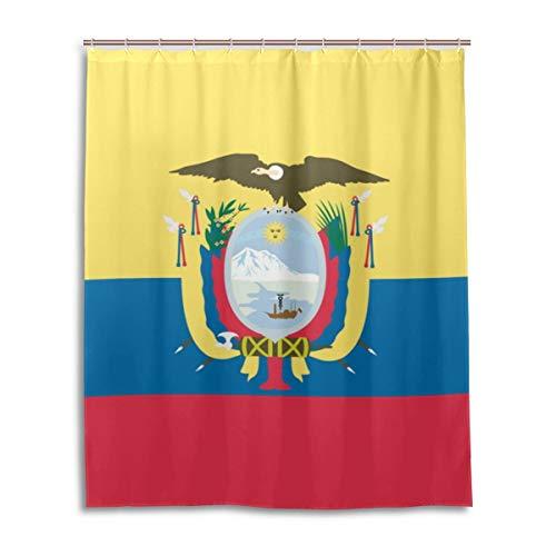 Leona Chesterton Flagge von Kolumbien wasserdicht Bad Vorhang Polyester Bad Duschvorhang 60 x 72 Inch