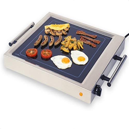 ELAG LeMax Grill S (vielseitiger Elektrogrill & Tischgrill - 2200 W Heizleistung - einfache Temperaturregulierung - gleichmäßige Hitzeverteilung - auch Grillplatte & Griddle)
