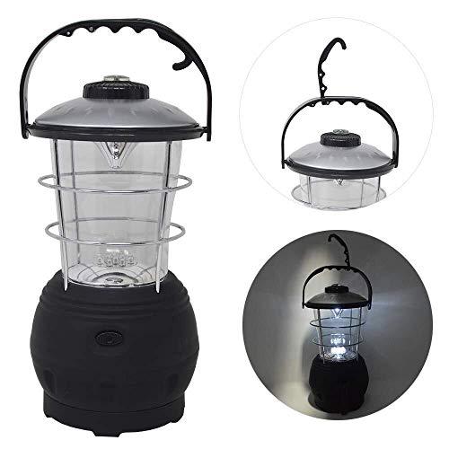 Campinglamp 12 LED dynamo lamp cranklamp tentlamp trekker lamp licht
