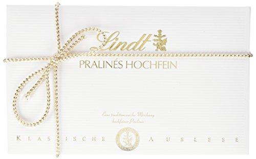 Lindt Pralinen Hochfein, Pralinen-Geschenk, 7 köstliche Sorten mit und ohne Alkohol, 12 Pralinen pro Packung, 1er Pack (1 x 120 g)