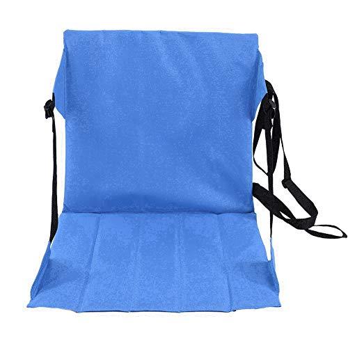 CUYT Stühle Pad Klapp Picknick Matte, Kissen Stuhl, Wandercamping für Strand für Outdoor(Blue)
