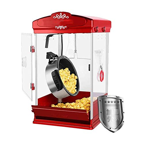 Find Cheap IhDFR Hot Air Popcorn Maker, 800W Retro Popcorn Maker Healthy and Fat-Free, Measuring Cup...