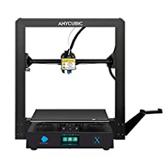 【Fast Assembly】: Mega X 3D printer came in two modules and all it takes is to plug in 12 screws and 3 cables; easy to assemble and get printing right out of the box; Perfect choice for beginners and veteran. 【High Print Precision】: This 3D Printer's ...