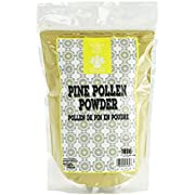 Dinavedic Pure Raw Pine Pollen Powder - 180g | Traditional Chinese & Korean Medicine, All Natural, Non-GMO, Plant Based Testosterone Supplement
