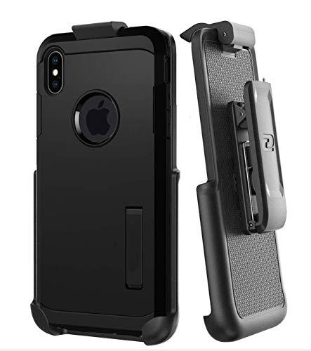 Coldre com clipe de cinto para Spigen Tough Armor Case - Apple iPhone Xs MAX (capa não incluída)