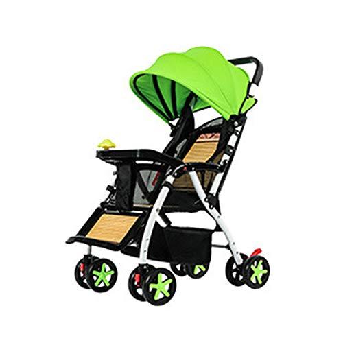 LPYR hoog landschap bamboe geweven vouwen katoen luifel lichtgewicht zomer en winter gemakkelijk te reinigen baby wandelwagen