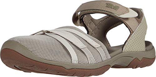 Teva Unisex Adults W Tirra CT Hiking Shoe, Plaza Taupe Birke, 10 UK