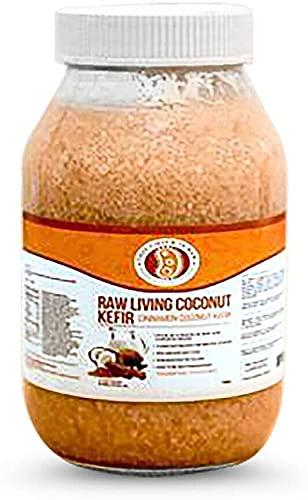 This Chick Is Raw Raw Living Cinnamon Coconut Kefir (Half Gallon)