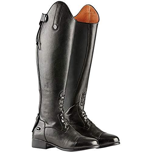 Dublin Damen Holywell Tall Leder-Reitstiefel (42EU Regular/Regular) (Schwarz)