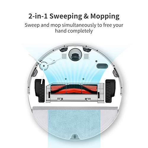 roborock Xiaowa E20 Saugroboter mit Wischfunktion und APP-Steuerung, staubsauger Roboter mit automatischer Teppichmodus für Tierhaare, Teppiche und Hartböden (Generalüberholt) - 6