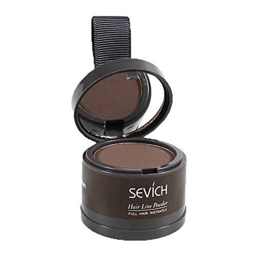 MANjia96COco Hair Line Powder, Haaransatz Puder, Make-up für Ihre Kopfhaut,Haarverdichtung und Make-up zum Ansatz kaschieren,Wasserfest,in 7 Farben