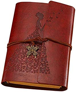 7inch A6 Leather Note Book Stationery Gift Travelers Notebook Diary Notepad Vintage literature PU Traveler Journal planners