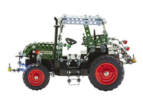 RC Auto kaufen Traktor Bild 5: Metallbaukasten RC Traktor Fendt Vario 313 - 574 Teile 1:24 LED Komplett-Set Werkzeug ab 12 Jahren Anleitung Erwachsene Metallbaukästen Metallbautechnik Lernfeld Tronico*