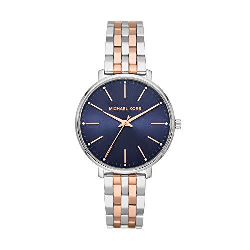 Michael Kors Reloj Analógico para Mujer de Cuarzo con Correa en Acero Inoxidable MK4547