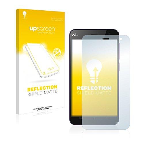 upscreen Entspiegelungs-Schutzfolie kompatibel mit Wiko Bloom – Anti-Reflex Bildschirmschutz-Folie Matt
