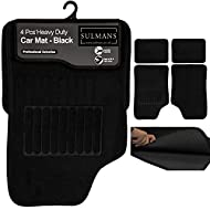 Usability – This 4 Piece Floor Mat is made to fit for front and rear floor and for all types of cars, vans, SUVs and Trucks. Car Mat is carefully designed to give your foot more grip, traction and comfort. Boot Liner is designed for easy cut and trim...