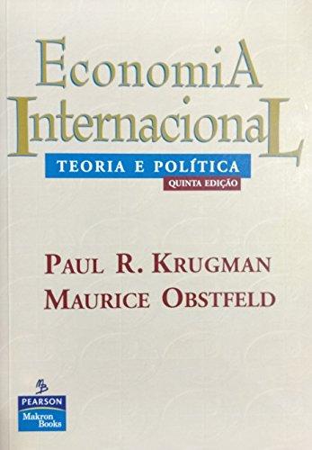 Economia Internacional: Teoria E Política
