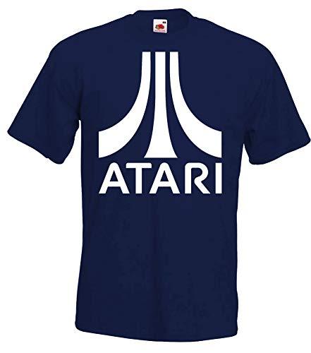Youth Designz Herren T-Shirt Modell Atari - Navyblau L