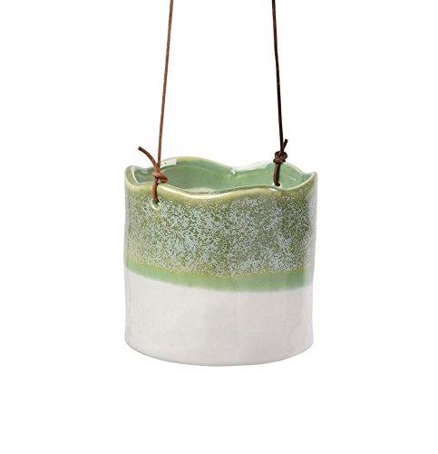 Burgon & Ball Hänge-Blumentopf Keramik Wave Ø 10 cm