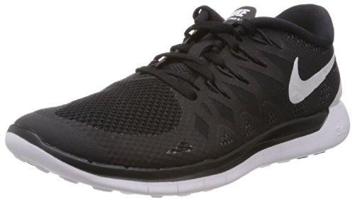 Nike Men's Free 5.0 Black/White/Anthracite Running Shoe 9.5 Men US
