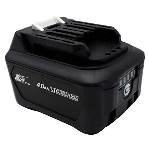 BL1041B 12V 4.0Ah Battery for Makita HP332D HP332DZ HP332DSAJ DF031D DF0331D JR103D, Makita BL1020 BL1021 BL1040B BL1041 BL1015 BL1016 197402-0