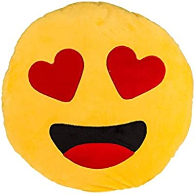 Amazon.com: gome-z lindo Emoji Cojín Home Cara Sonriente ...