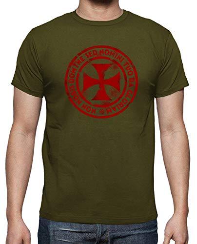 latostadora - Camiseta Sello Temple para Hombre