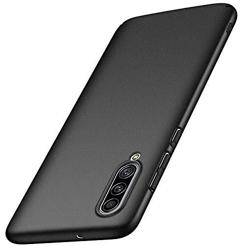 Avalri für Samsung Galaxy A90 5G Hülle, Superdünne Handyhülle Hardcase aus PC Stoß- & Kratzfest Kompatibel mit Samsung Galaxy A90 5G (Kies Schwarz)