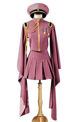 Vocaloid Senbon Sakuras Zakura Miku Cosplay Kostüm Uniform Dress Damen S