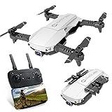 Drone FPV Pieghevole con Videocamera 4K per Adulti, 5G WiFi FPV Drone Live Video per Principianti,...