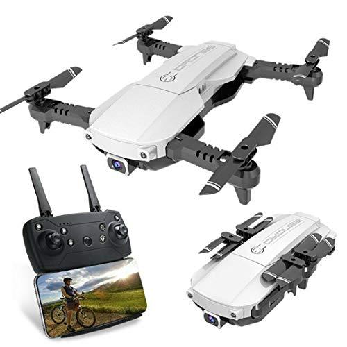 Drone FPV Plegable con Cámara 4K para Adultos, 5G WiFi FPV Drone Video en Vivo para Principiantes, Cambio de Doble Disparo | Control del Teléfono | Foto Gesto | Visión VR