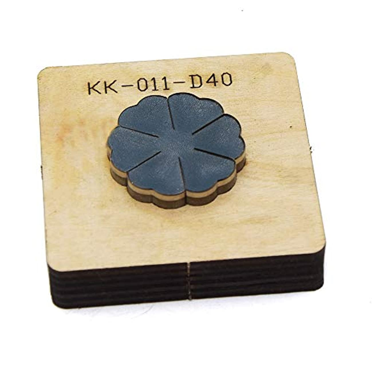 BOERNISEN Leather Flower ized Leather Cutting die Handicraft Tool Punch Cutter Mold DIY Paper Laser Knife(Style8)