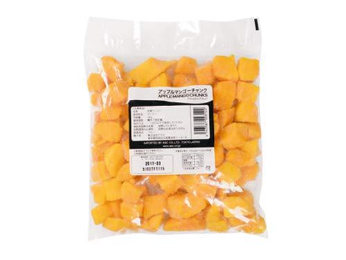 【10袋】【冷凍】冷凍フルーツ アップルマンゴー 1kg チャンク トロピカルマリア アスク