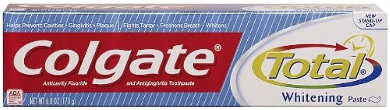 Colgate Total + Whitening pasta dental, 6 oz