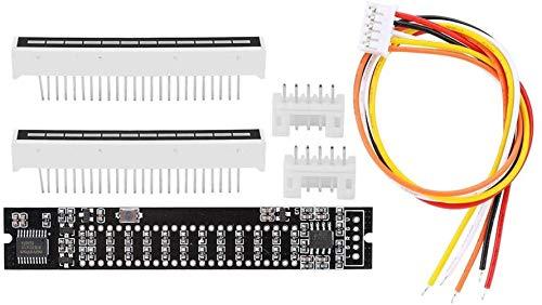 logozoe Doppio indicatore di Spettro Audio a 12 Livelli Fai-da-Te, Scheda Amplificatore VU Meter, Kit elettronici Fai-da-Te di Durata per Musicisti e Professionisti(Music Spectrum Level Indicator)