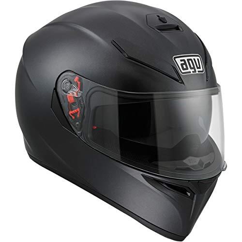 AGV K3 SV Motorcycle Helmet Matte Black Medium - DOT-Approved