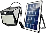 REYLAX Luz Solar LED 15W, Sensor de Movimiento, Modo Nocturno...