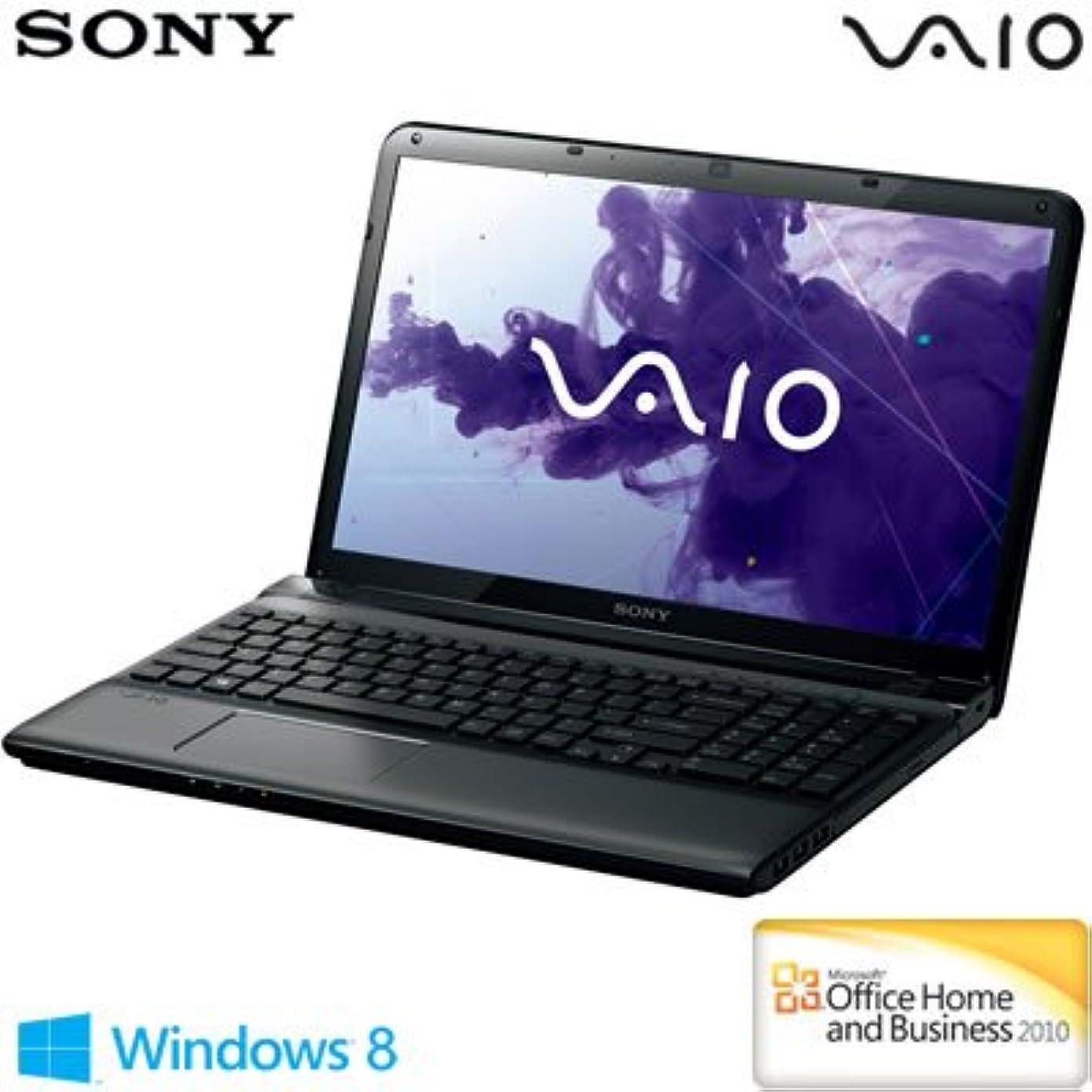 関連付けるパイプライン機械ソニー(VAIO) VAIO Eシリーズ (W8 64/Ci5/15.5WXGA/4G/BDXL/1T/WLAN/BT/Office) ブラック SVE15125CJB