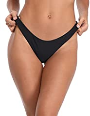 Sexy cheeky brazilian bottom with minimal coverage,Cheeky Brazilian Cut and low rise design makes your legs look impossibly long, while confidence to show your shape curves and bottocks Seamless bikini bottom,Full-covering high quality lining and sea...