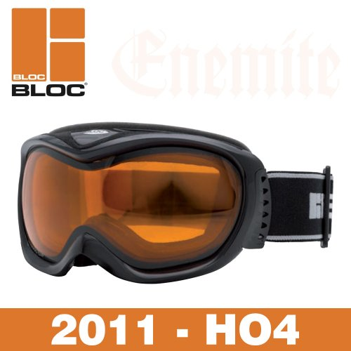 BLOC SKI-/SNOWBOARD-BRILLE, HAI-DESIGN, SCHWARZ