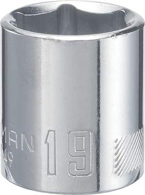 CRAFTSMAN Socket, Metric, 3/8-Inch Drive, 19mm (CMMT43549)
