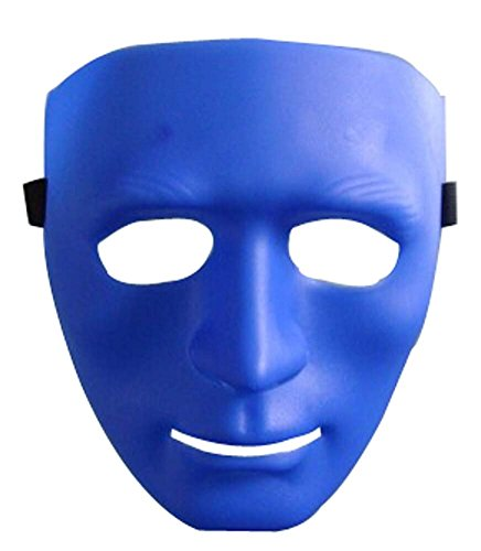 Masque Halloween Masquerade enfants Horreur Street Dance boules bleues