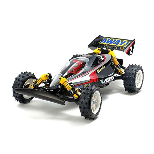 TAMIYA 58686 1:10 VQS 2020 4WD Buggy, ferngesteuertes Auto, RC Fahrzeug, Modellbau, Bausatz zum Zusammenbauen, Bausatzmodell