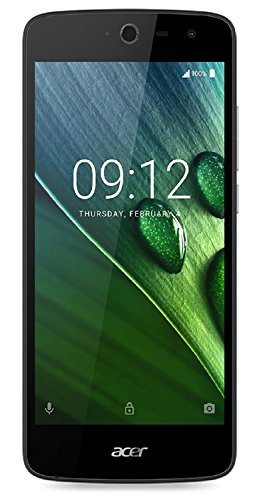 Acer Liquid Zest 3G Dual Micro-SIM Smartphone (12,7 cm (5 Zoll) Display, 8GB Speicher, Android 6.0) schwarz + weiß (Dual Backcover)