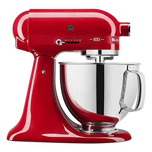 KitchenAid 5KSM180H robot da cucina 4,8 L Rosso 325 W