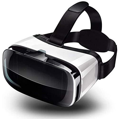 LAHappy 3D VR Gafas de Realidad Virtual, VR Glasses, Visión de 360 Grados Gafas VR de Realidad Virtual Compatible con Android y iPhone para teléfonos móviles de 4,5 a 6.3 Pulgadas